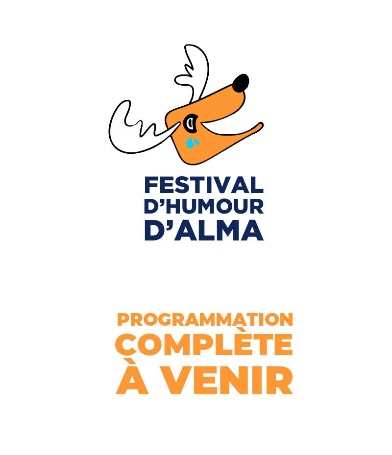 Affiche Festival d'humour d'Alma