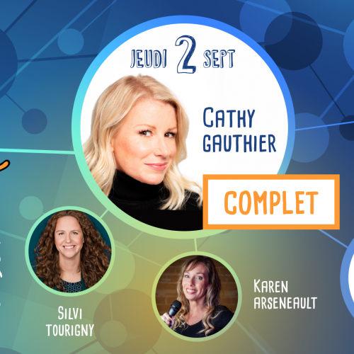 (COMPLET) Gala d'ouverture - Cathy Gauthier